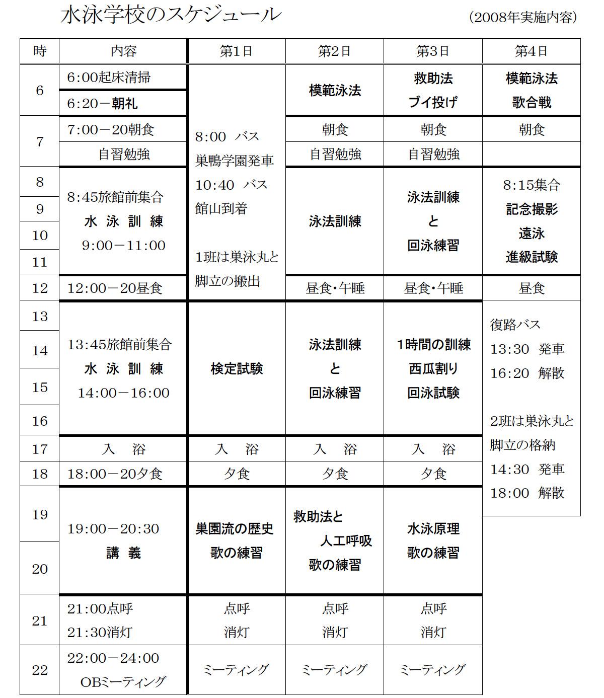 4.水泳学校スケジュール